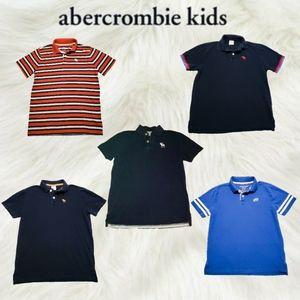 Abercrombie & Fitch Kids Polo Shirt Bundle Boys XL